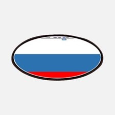 Sharapova Russia Flag Patches