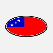 Samoa Samoan Flag Patches
