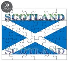 Scotland Scottish Flag Puzzle