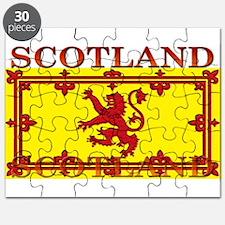 Scotland Scottish Flag Puzzle