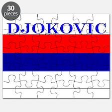 Djokovic Serbia Serbian Puzzle