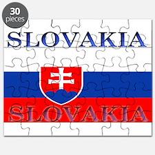 Slovakia Slovak Flag Puzzle