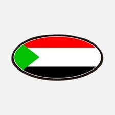 Sudan Sudanese Blank Flag Patches