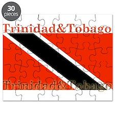 Trinidad & Tobago Flag Puzzle