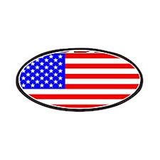 Roddick American Flag Patches