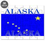 Alaska State Flag Puzzle