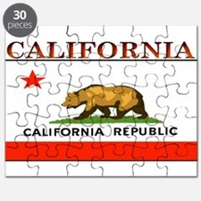 California State Flag Puzzle