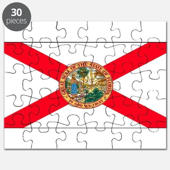 Florida Sunshine State Flag Puzzle