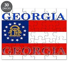 Georgia Georgian State Flag Puzzle