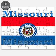 Missouri State Flag Puzzle