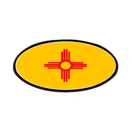 New Mexico Blank Flag Patches