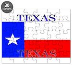 Texas Texan State Flag Puzzle