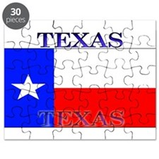 Texas Texan State Flag Puzzle