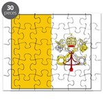 Vatican City Blank Flag Puzzle