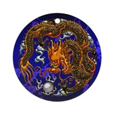 Harvest Moon's Chinese Dragon Ornament (Round)