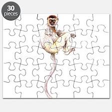 Verreaux's Sifaka Lemur Puzzle