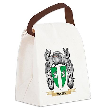Anstey Family Crest - Anstey Coat Canvas Lunch Bag
