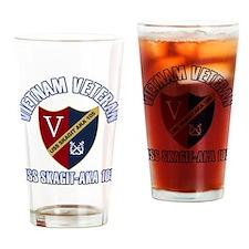 Vietnam Vet USS Skagit Drinking Glass