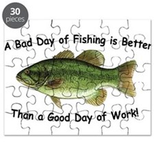 Bad Day Fishing Bass Puzzle