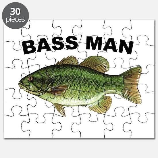 Bass Man ( Ass Man ) Fishing Puzzle