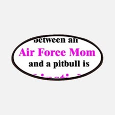 Air Force Mom Pitbull Lipstic Patches