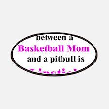 Basketball Mom Pitbull Palin Patches