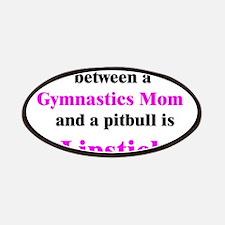 Gymnastics Mom Pitbull Lipsti Patches