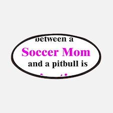 Soccer Mom Pitbull Lipstick Patches