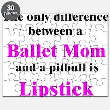 Ballet Mom Pitbull Lipstick Puzzle