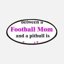 Football Mom Pitbull Lipstick Patches
