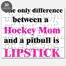 Palin Hockey Mom Pitbull Lips Puzzle