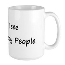 I see Creepy People Mug