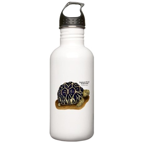 Indian Star Tortoise Stainless Water Bottle 1.0L