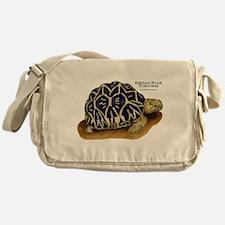 Indian Star Tortoise Messenger Bag