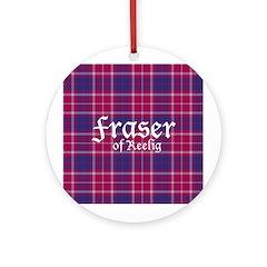 Tartan - Fraser of Reelig Ornament (Round)