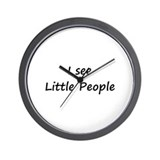 I see little people Wall Clocks