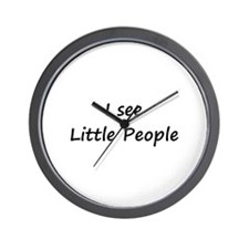 I see Little People Wall Clock
