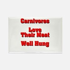 The Carnivore's Rectangle Magnet