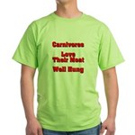 The Carnivore's Green T-Shirt
