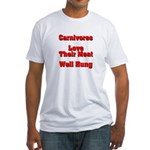 The Carnivore's Fitted T-Shirt