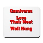 The Carnivore's Mousepad