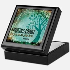 Do Your Best Quote on Keepsake Box