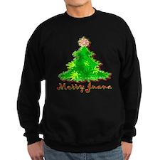 Funny Marijuana Christmas Sweatshirt