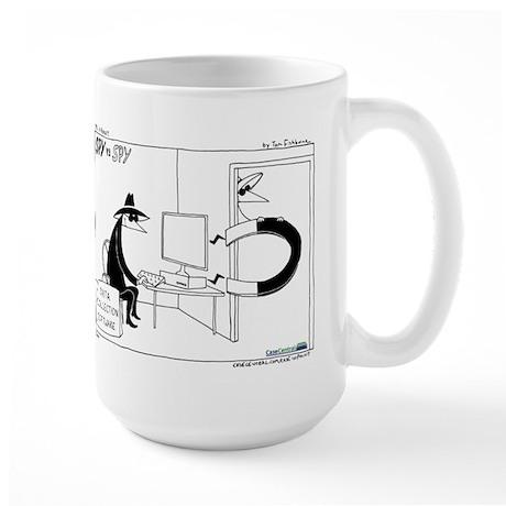 Spy vs. Spy Large Mug