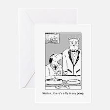 Dog Toon Greeting Card