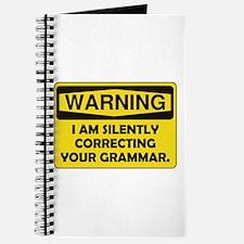 Warning Grammar Journal