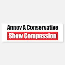 Show Compassion Bumper Bumper Bumper Sticker