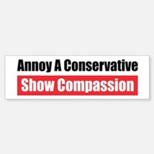 Show Compassion Bumper Car Car Sticker