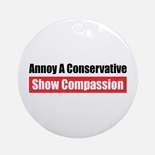 Show Compassion Ornament (Round)