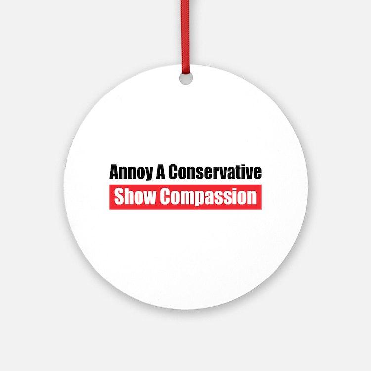 Show Compassion Ornament (Round)